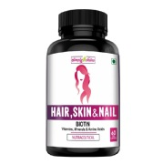 Simply Nutra Hair Skin & Nails,  60 capsules  Unflavoured