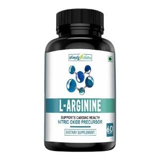 Simply Nutra L Arginine,  60 tablet(s)
