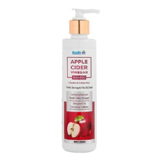 Healthvit Apple Cider Vinegar Shampoo,  200 ml  All Hair Type