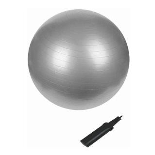 B Fit USA Anti Burst Gym Ball (3629-65),  Silver  65 cm