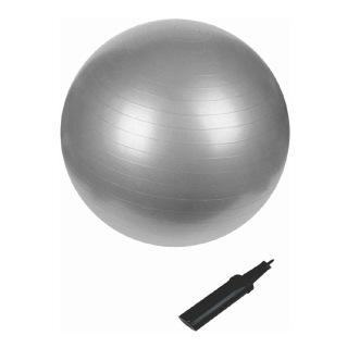 B Fit USA Anti Burst Gym Ball (3629-55),  Silver  55 cm