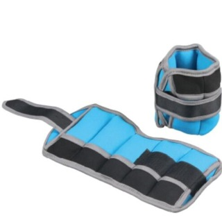 B Fit USA Ankle/Wrist Weight (3702),  Blue  2.5 kg