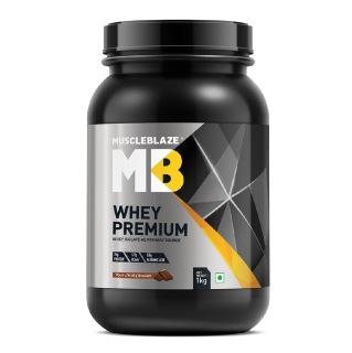 MuscleBlaze Whey Premium,  2.2 lb  Rich Milk Chocolate