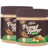Alpino Peanut Butter (Unsweetened) Pack of 2,  0.250 kg  Natural Crunch