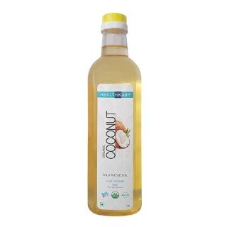 HealthKart Cold Pressed Organic Regular Coconut Oil,  1 L