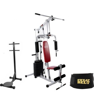 Lifeline Complete Health Combo Home Gym 002, Standing Twister and Sweat Belt