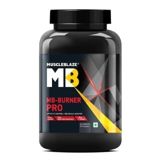 MuscleBlaze Burner PRO Thermogenic Fat Burner,  90 capsules  Unflavoured