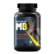 2 - MuscleBlaze L-Carnitine L-Tartrate,  60 capsules  Unflavoured