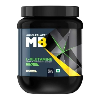 2 - MuscleBlaze Micronized Glutamine,  0.55 lb  Unflavoured