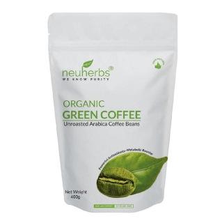 Neuherbs Organic Green Coffee Beans,  0.4 kg