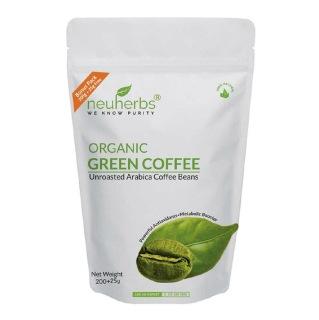 Neuherbs Organic Green Coffee Beans,  0.225 kg