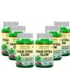 Morpheme Remedies Hair Vital Glow Extract (500 mg),  Unflavoured (Pack of 6)  60 veggie capsule(s)