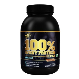 MightyX 100% Whey Protein Ultra,  1 lb  Chocolate