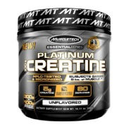 3 - MuscleTech Platinum 100% Creatine,  Unflavoured  0.88 lb