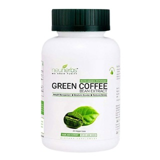 Neuherbs Green Coffee Bean Extract for Weight Management (800 mg),  30 veggie capsule(s)