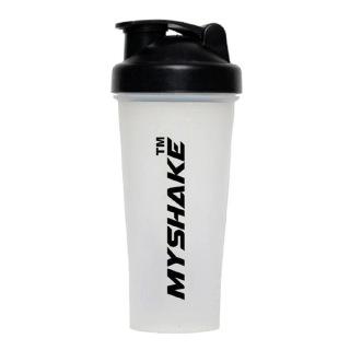 Myshake Classic Protein Shaker,  Black & White  600 ml