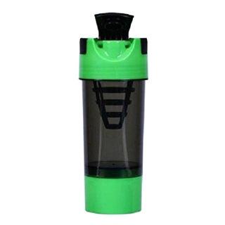 Myshake Cyclone Protein Shaker,  Black & Green  450 ml