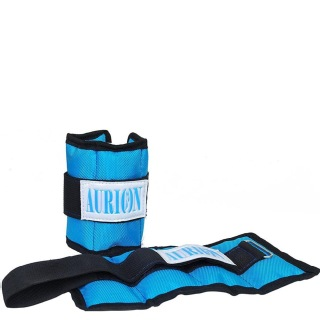 Aurion Wrist and Ankle Weights for Fitness,  Blue  1 kg