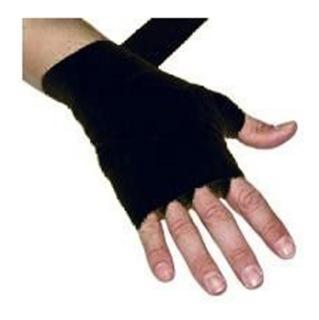 Aurion 3434 Canvas Boxing Hand Wraps,  Black  108 Inch
