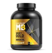 MuscleBlaze Whey Gold Protein, 4.4 lb French Vanilla