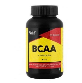 Healthvit BCAA 2:1:1,  60 capsules  Unflavoured