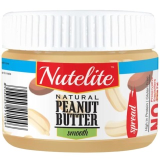 Nutelite Natural Peanut Butter (Spread),  0.340 kg  Smooth