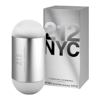 Carolina Harrera 212 NYC Eau De Toilette,  100 ml  for Women