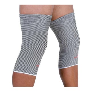 1 - SportSoul Premium Compression Knee Support Pack of 2,  Black & White  Small