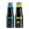 Engage Mate and Urge Deo Combo of 2,  150 ml  for Men