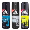 Adidas Ice Dive Pure Game and Dynamic Pluse Deo Combo of 3,  150 ml  for Men
