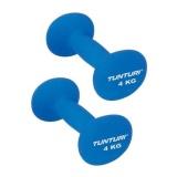Tunturi Neoprene Dumbbell,  Blue  4kg