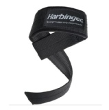 Harbinger Big Grip Padded Lifting Straps,  Black  Free Size