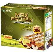 RiteBite Max Protein Bar,  6 Piece(s)/Pack  Honey Lemon