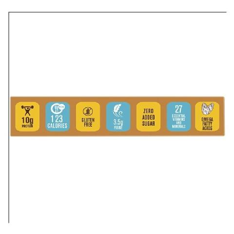 Point - MuscleBlaze Mini-Protein Bar (10g Protein),  6 Piece(s)/Pack  Almond Fudge