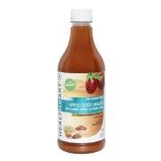 HealthKart Apple Cider Vinegar with Mother, 0.5 L Cumin, Fennel, Carom Seeds