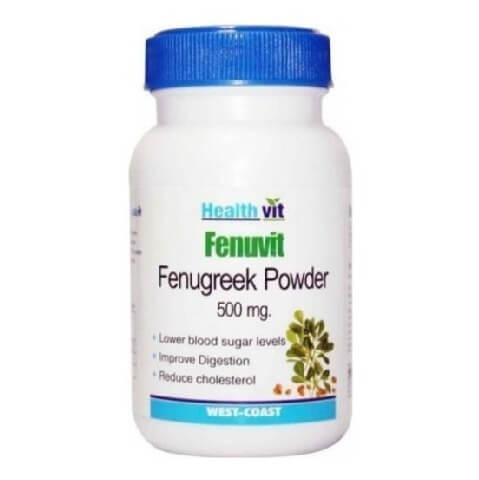 Healthvit Fenuvit Powder,  60 capsules