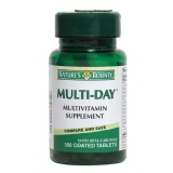 Nature's Bounty Multi-Day Multivitamin Supplement,  Unflavoured  100 Tablet(s)