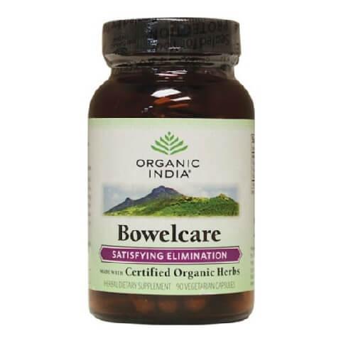 Organic India Bowelcare Capsules,  60 capsules