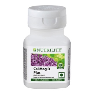 2 - Amway Nutrilite Cal Mag D Plus,  90 tablet(s)  Unflavoured