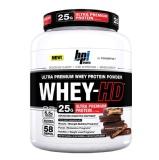 BPI Sports Whey-HD Ultra Premium,  4.75 Lb  Vanilla Caramel