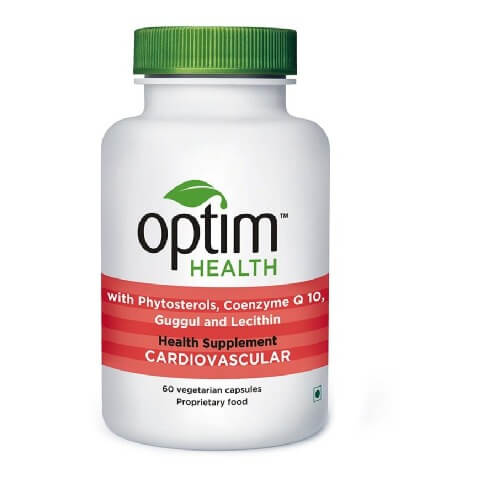 OptimHealth Cardiovascular Health Supplement,  60 capsules
