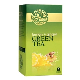 Laplant Green Tea,  25 Piece(s)/Pack  Lemon & Ginger