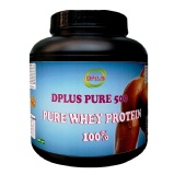 Dplus Pure Whey Protein,  Unflavor  1.1 Lb
