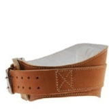 Schiek Leather Padded Contour Belt 6 Inch,  Brown  Medium