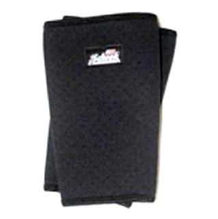 Schiek Perforated Knee Sleeves,  Black  Small