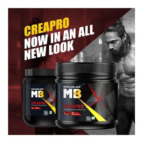 NewLook - MuscleBlaze CreaPRO Creatine with Creapure,  0.55 lb  Unflavoured